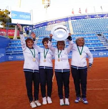 MUNDIAL ITF SUPER SENIORS CROACIA - CAMPEONAS