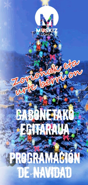 Muskiz han organizado un programa navideño repleto de actividades para toda la familia