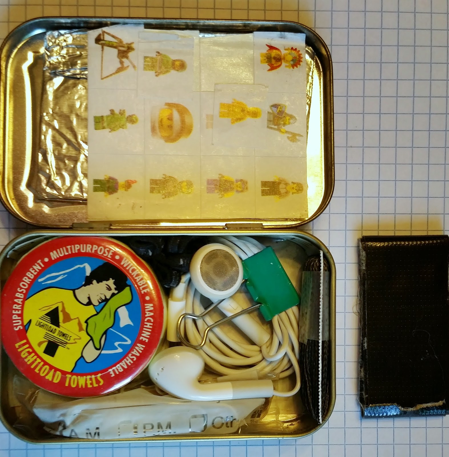 ben u0026 39 s journal  what u0026 39 s in the tin  my altoids kit  v2