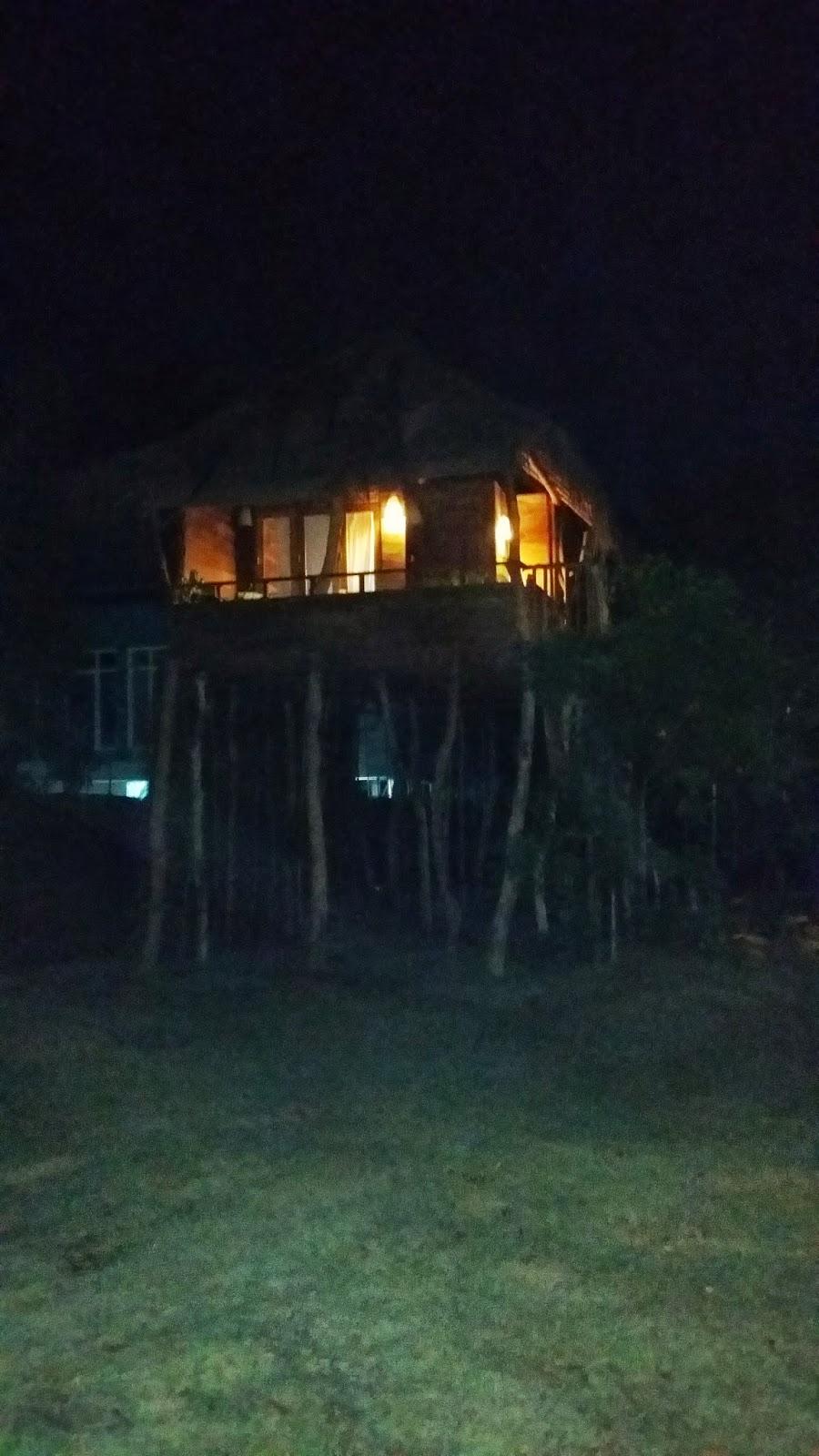 Habitaciones de hotel en cabañas. Tangalla (Sri Lanka)