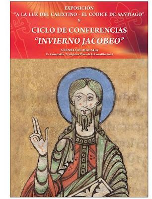 Cartel de las conferencias del Camino de Santiago.