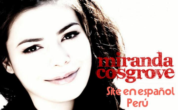 Miranda Cosgrove | Sitio en español