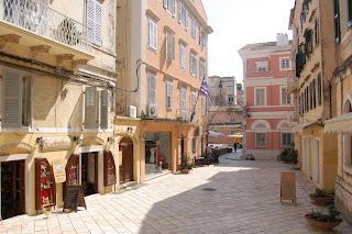 (Greece) - Corfu town