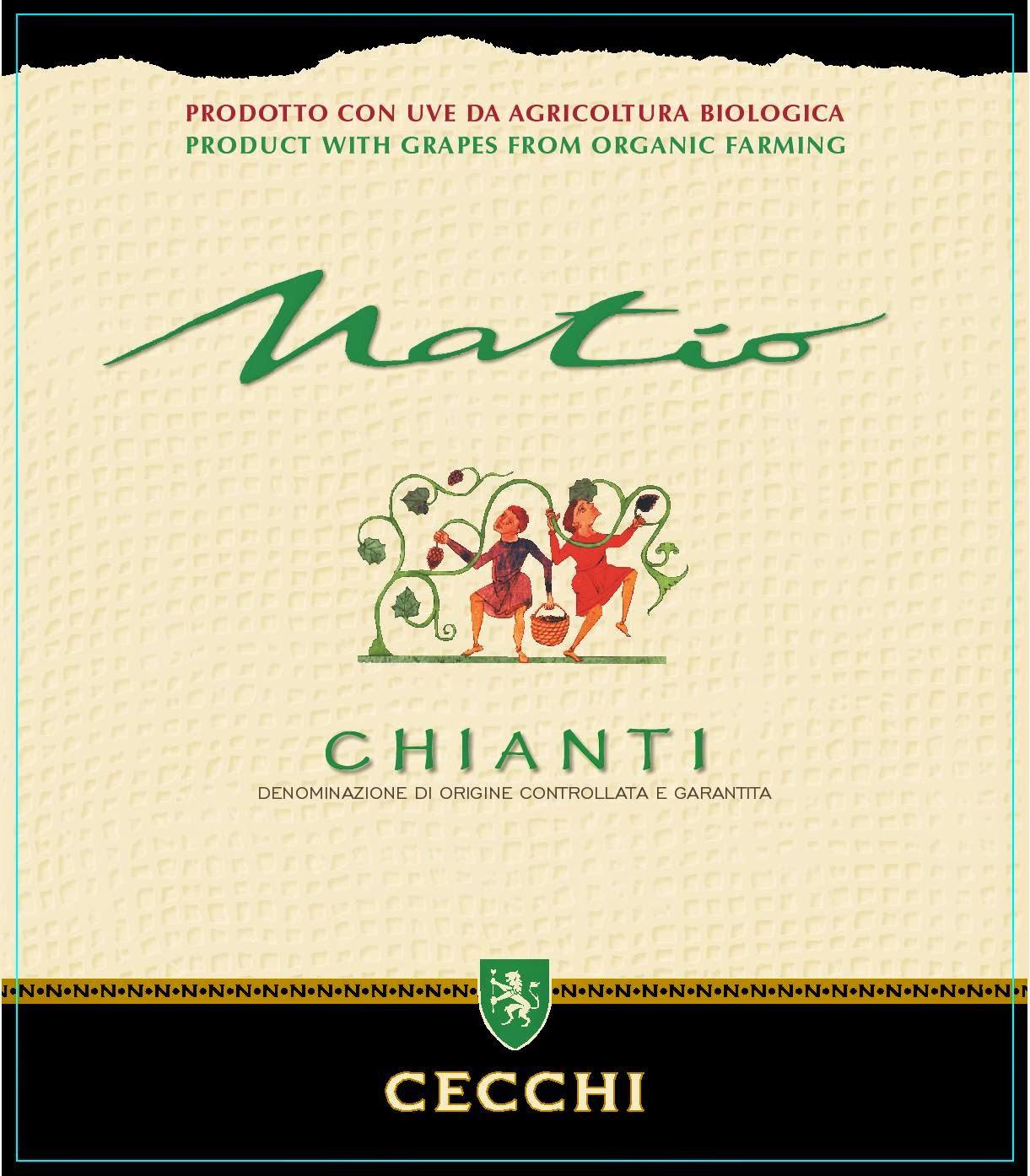 cecchi rosso chianti sangiovese packging label naming etichetta