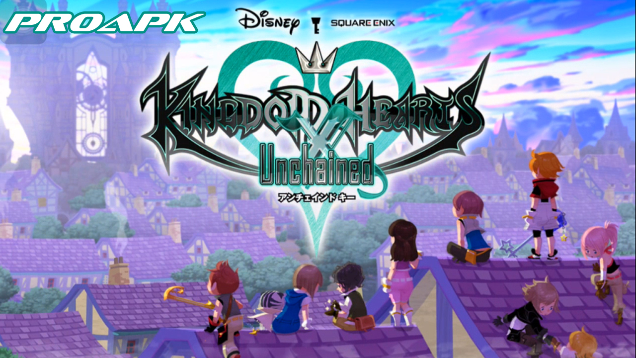KINGDOM HEARTS Unchained X Gameplay IOS / Android