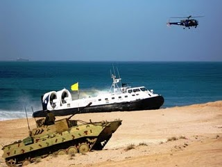 Indian Navy Military Exercise