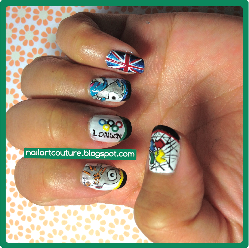 Nail Art Couture July 2012
