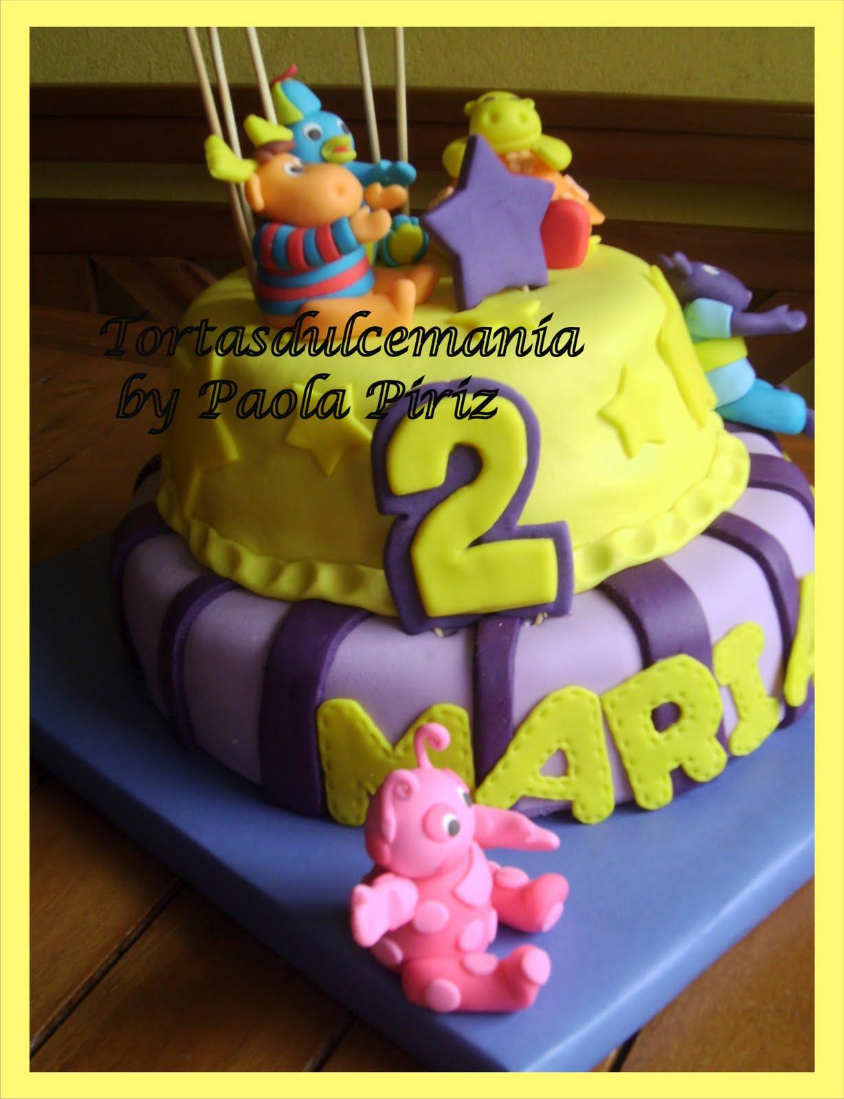 Tortas infantiles backyardigans  Tortas decoradas dulcemanía