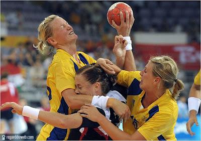 Images amusantes et insolites Sport - Handball v33
