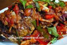 resep praktis (mudah) membuat (memasak) Ikan bakar padang spesial enak, lezat