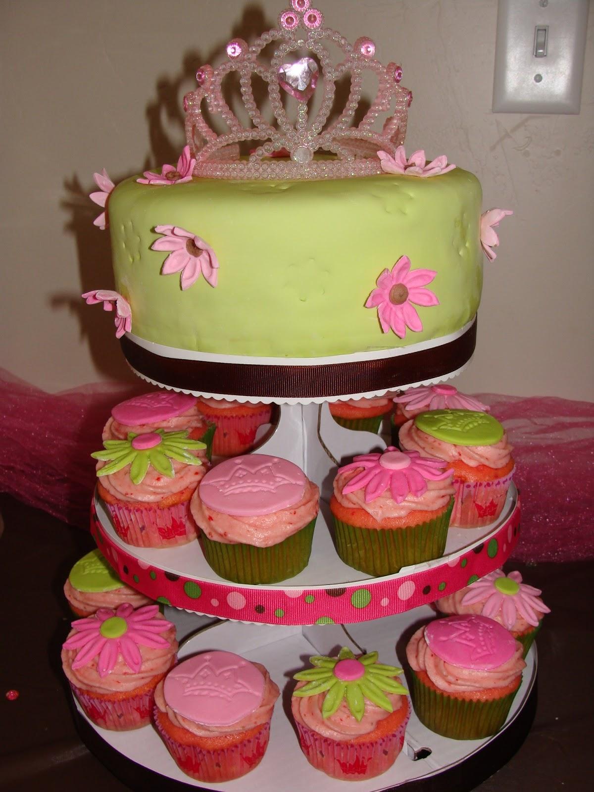amber 39 s cakes princess baby shower cake cupcakes