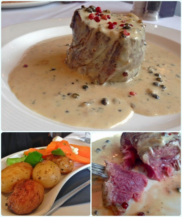 Luciano's at the Millstone, Anderton - Steak