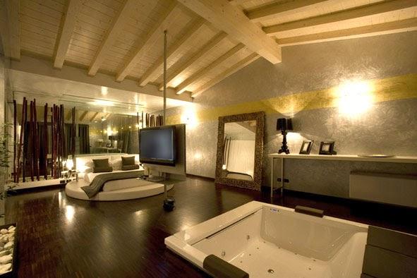 I motel dell 39 amore one mhotel san paolo bs - Jacuzzi in camera da letto ...