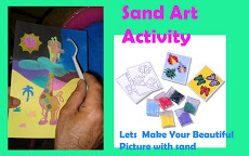 Sand Art ActivityParty Activity