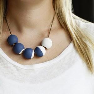 Lunar Inspired DIY Necklace