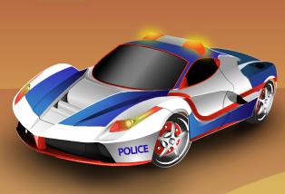 Gece Polis Arabası