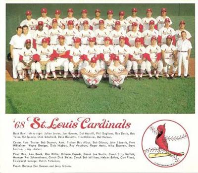 1968 Cardinals