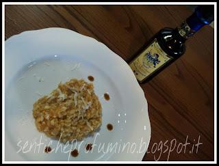 Risotto con zucca e Aceto Balsamico Acetaia Valeri