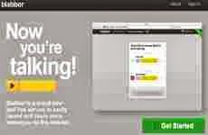 Blabber.io: permite grabar y compartir mensajes de voz vía Facebook