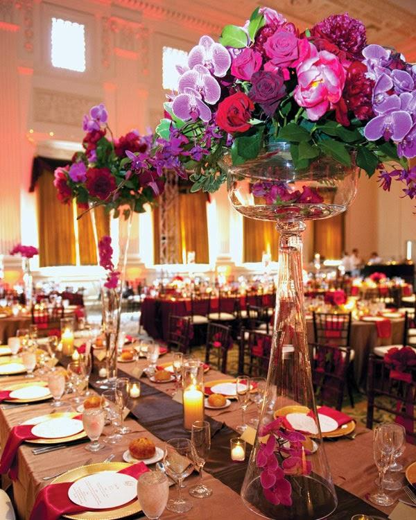 Tall wedding centerpieces ideas