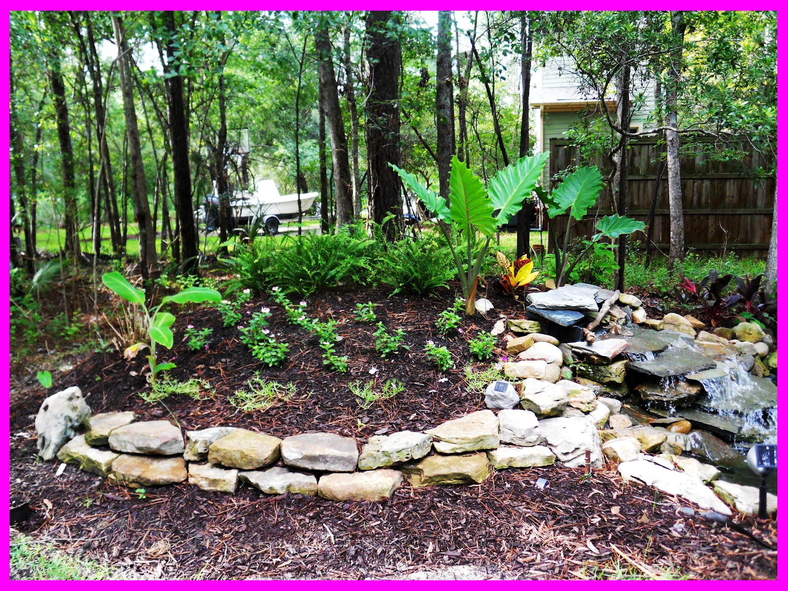 this is the second part of my big backyard makeover if you missed