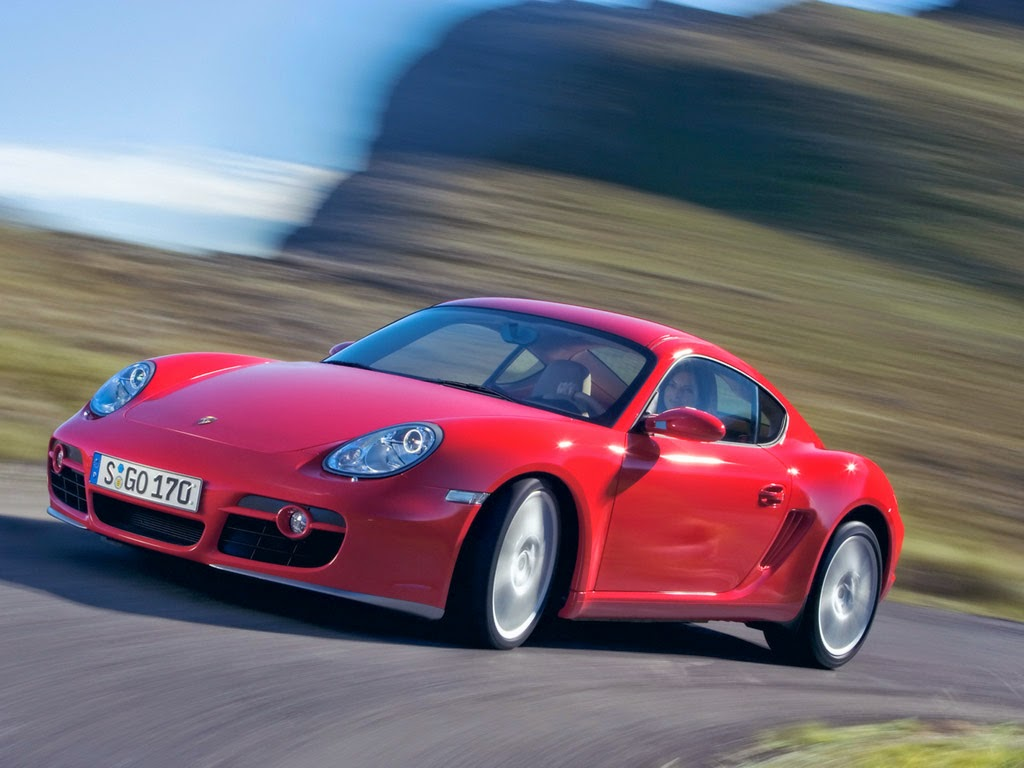 The Porsche Cayman