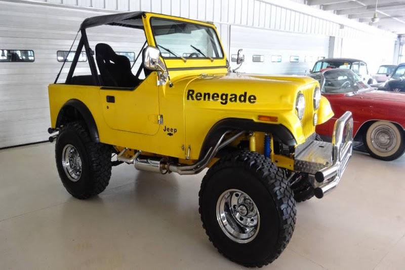 Modifikasi Mobil Jeep CJ-7 Tahun 80