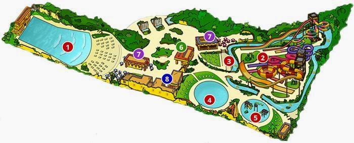 Mapa de Agua Mágica