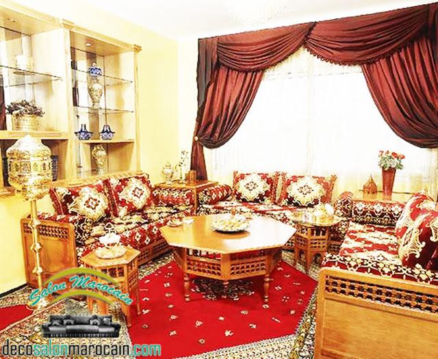 Salon marocain haute qualité