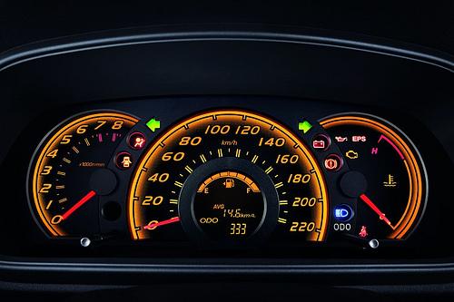Perodua Myvi Panel Instrument