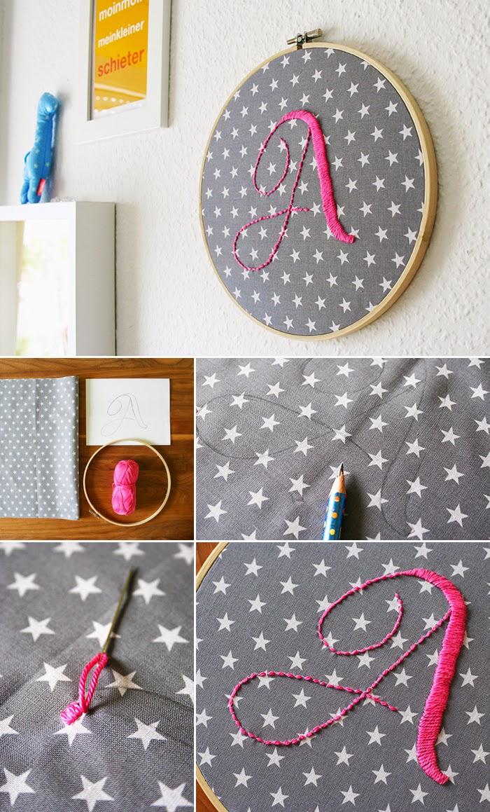 Gesticktes a gingered things der diy bastel blog rund um deko geschenke und einrichten - Papierlampe kinderzimmer ...