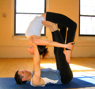 innerpeach: Thanks, Partner Yoga...