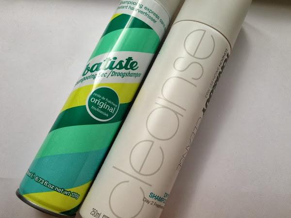 Batiste Original Dryshampoo vs. Toni & Guy Cleanse Dry Shampoo.