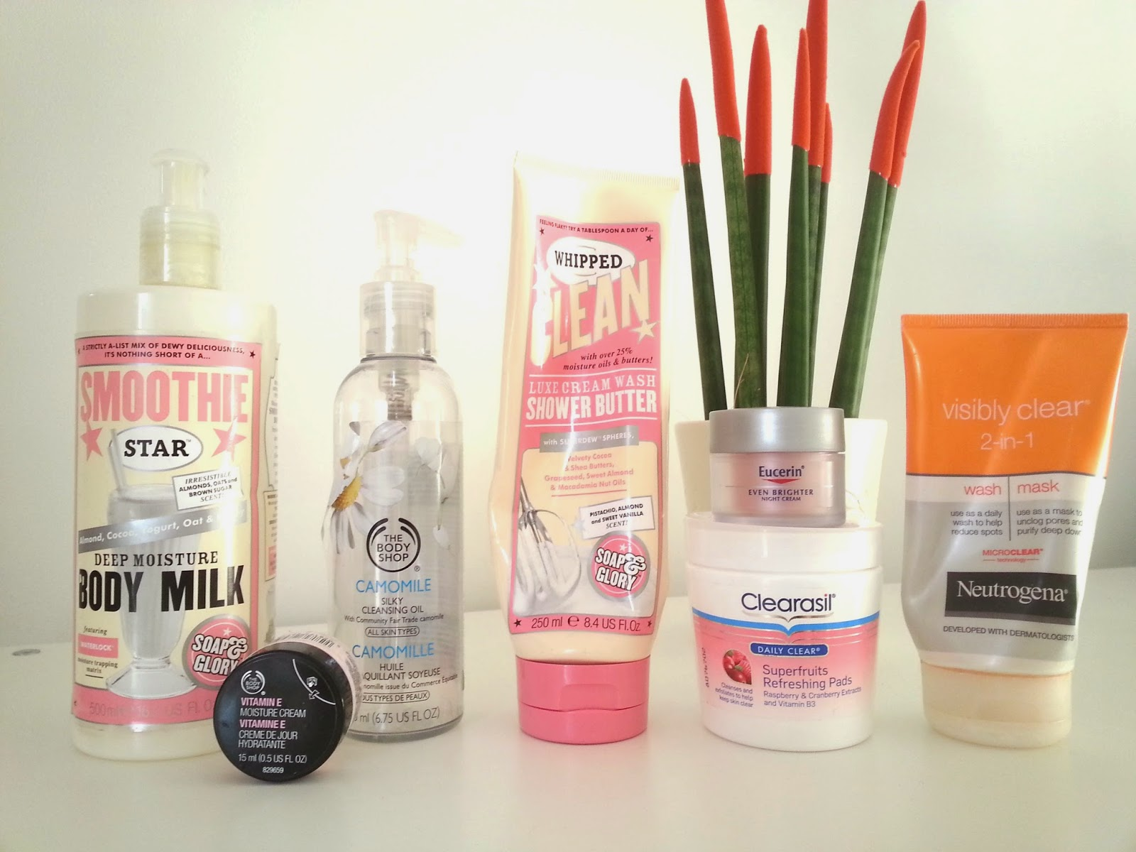 February Empties Skin Care
