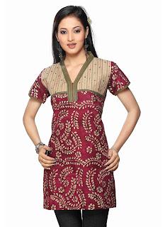 Model Baju Baju Batik Modern Terbaru