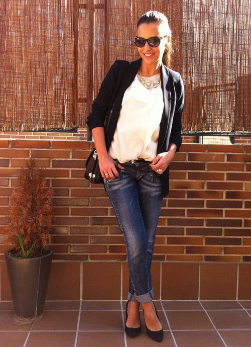 No sin mi blazer noviembre 2012 for Look para cena informal amigas