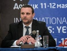 """Projev Manuela Ochsenreitera na mezinárodním fóru """"Doněck: včera, dnes, zítra"""""""