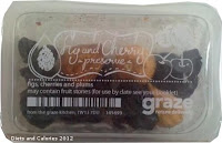 Graze box snacks - fig and cherry preserve