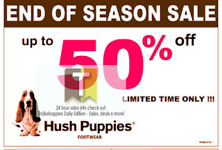 Hush Puppies End of Season Sale 2012