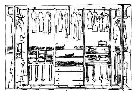 LA CABINA ARMADIO: Interno cabina armadio