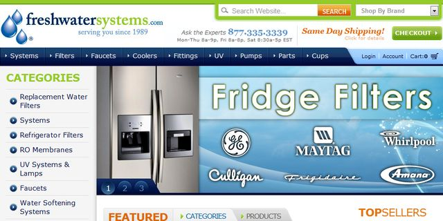 refrigerator Filters at FreshWaterSystems.Com