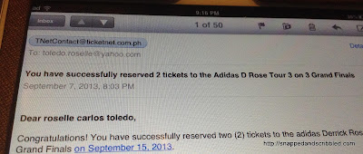 Adidas D Rose Tour Manila