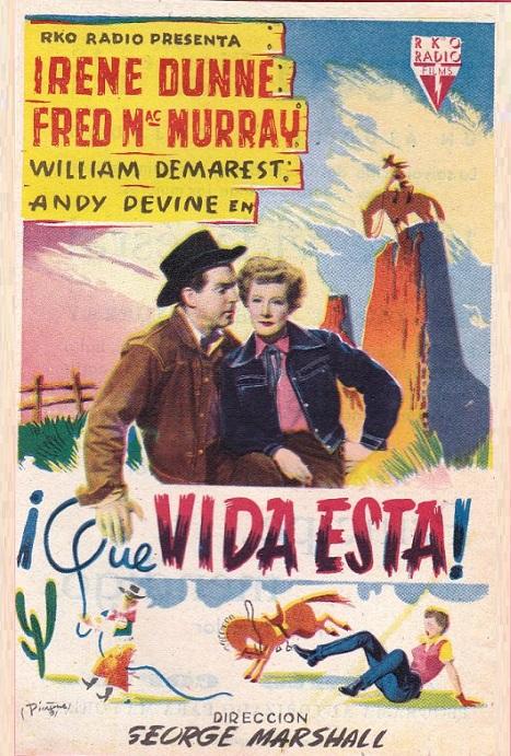 QUE VIDA ESTA (1950)