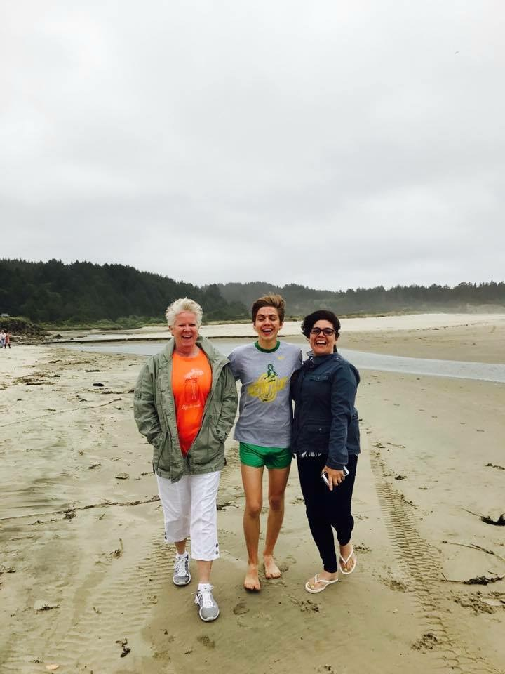 On the Beaches of Coos Bay