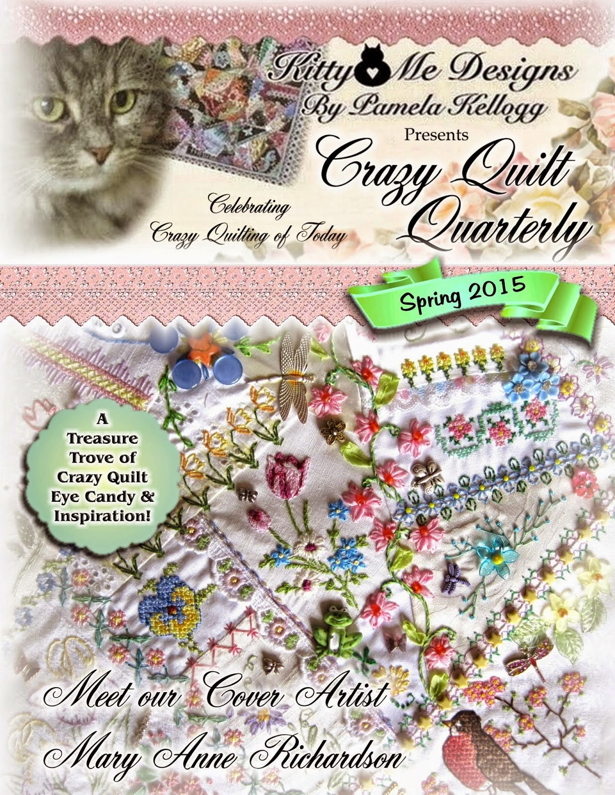 Crazy Quilt Quarterly magazine