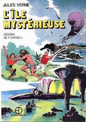 Jules Verne en BD, dessiné par Caprioli 01-04 (Série finie)