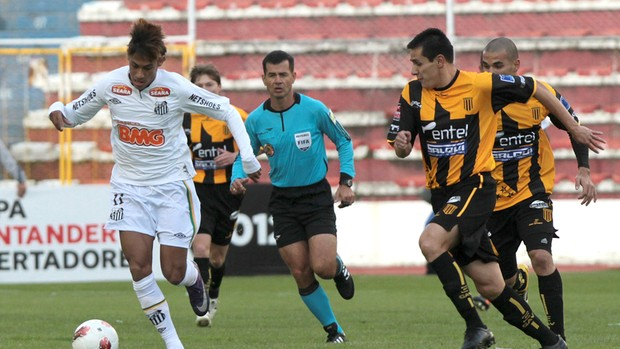 Libertadores 2012 : The Strongest 2 X 1 Santos