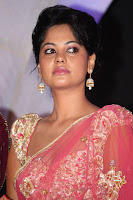 Actress, Bindhu, Madhavi, in, Pink, Saree, Photos