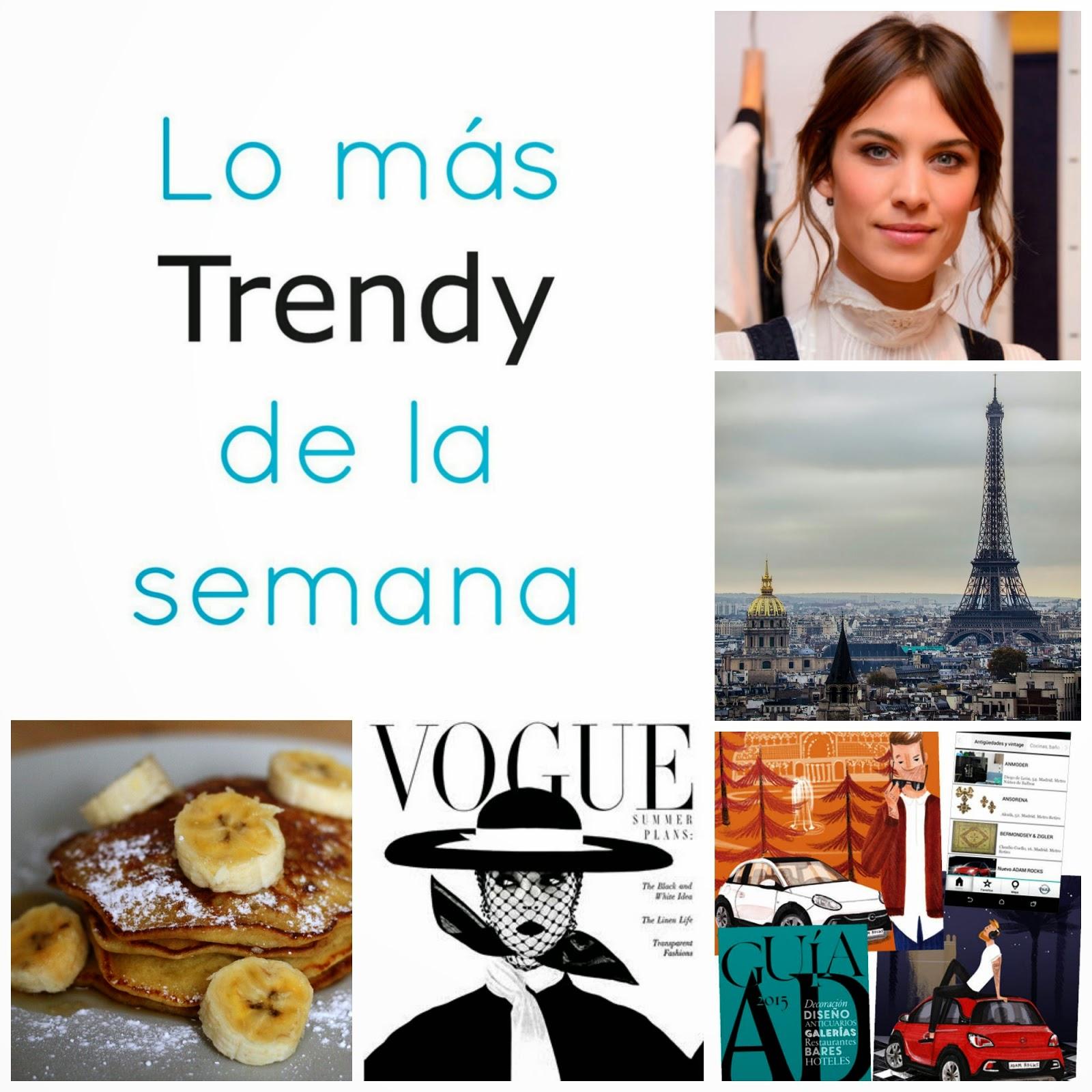 Lo mas trendy de la semana planes recomendaciones moda Madrid fashion blog fin de semana