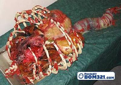 Kek Yang Berbentuk Organ